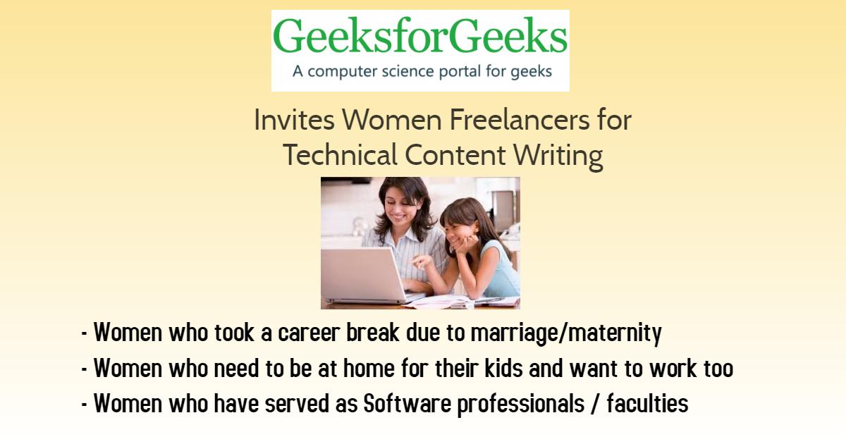 Freelancer Opportunity