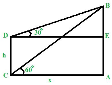 Trigonometry & Height and Distances - GeeksforGeeks