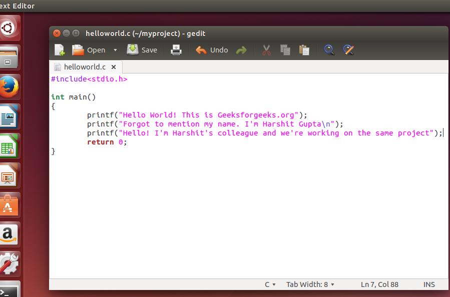 How to install, configure and use GIT on ubuntu? - GeeksforGeeks