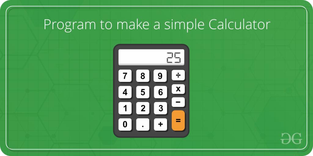 C program to create simple calculator.