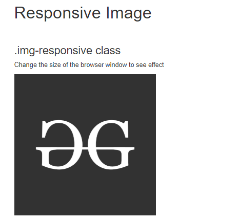 Responsive images in Bootstrap with Examples - GeeksforGeeks