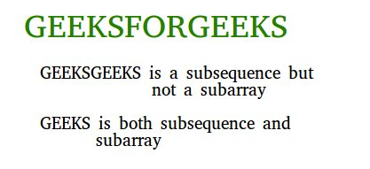 subseq-vs-subarray