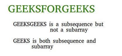 subseq-vs-subarray